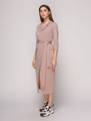 Платье фрезового цвета | 4913065