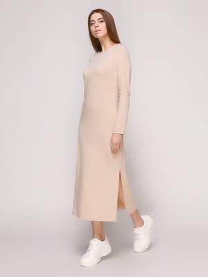 Платье бежевое | 4913067