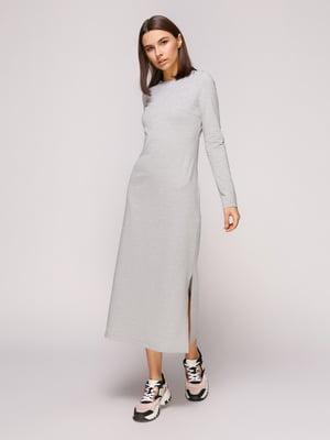 Платье серое меланжевое | 4913069