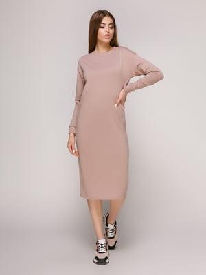 Платье фрезового цвета | 4913071