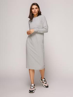 Платье серое меланжевое | 4913072