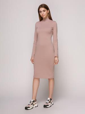 Платье фрезового цвета | 4913074