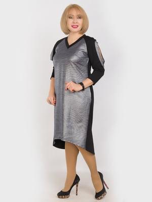 Сукня двоколірна | 4914346