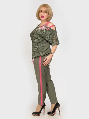 Костюм: блуза і штани | 4917781