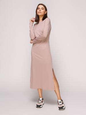 Платье фрезового цвета | 4913068