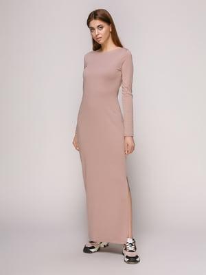 Платье фрезового цвета | 4913077