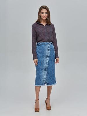 Спідниця синя джинсова | 4917992