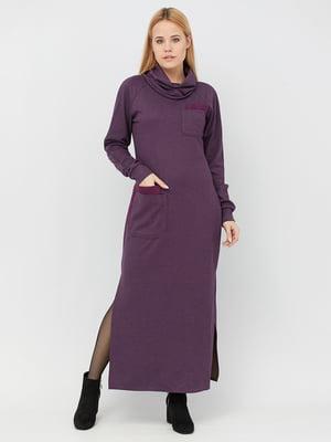 Сукня чорничного кольору | 4918190