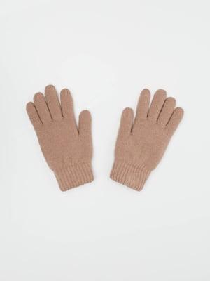 Рукавички кольору пудри | 4916163
