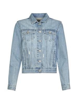 Куртка блакитна | 4916209
