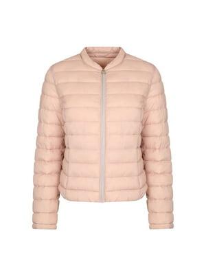 Куртка кольору пудри  | 4916213