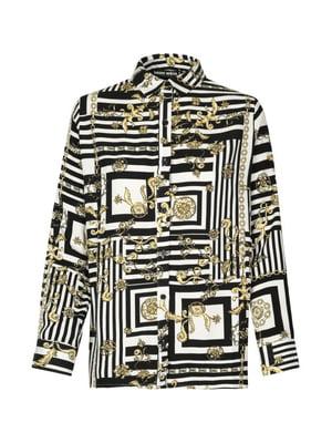 Рубашка в принт | 4916403