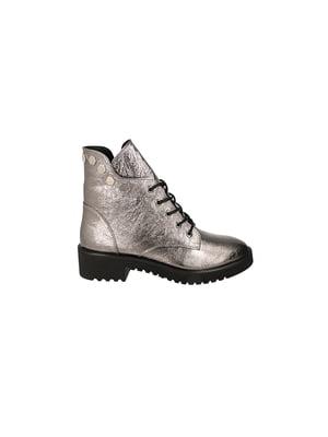 Ботинки серебристые | 4919819