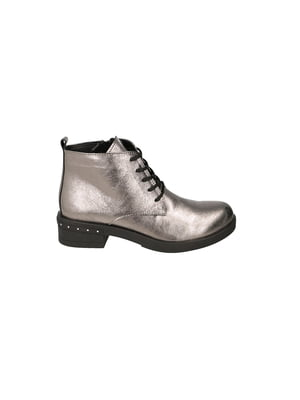 Ботинки серебристые | 4919826