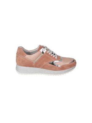 Кроссовки персикового цвета   4919915