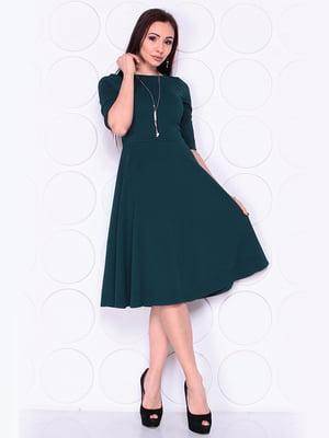 Платье темно-изумрудного цвета | 4919797