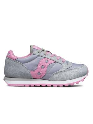 Кросівки сріблясто-рожеві Jazz Original | 4920798