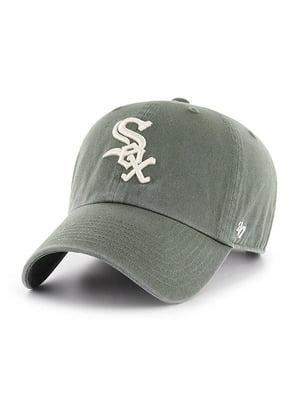 Бейсболка блідо-зелена | 4920914