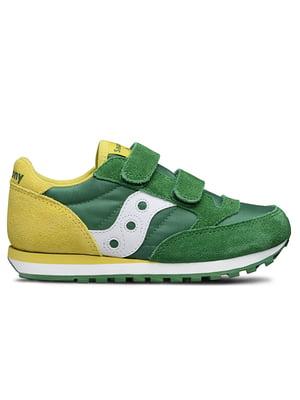 Кросівки зелено-жовті Jazz Double HL | 4920932