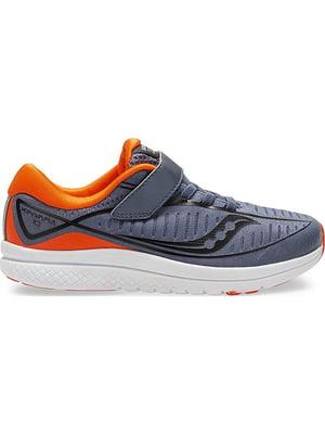 Кросівки сіро-помаранчеві Kinvara 10 | 4921023