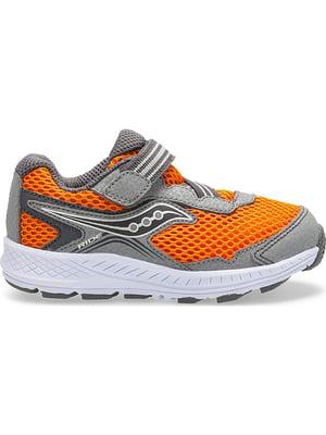 Кросівки сіро-помаранчеві Ride 10 | 4921037