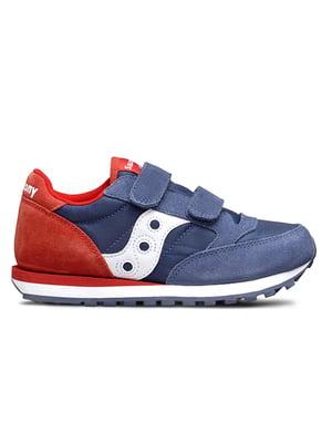 Кросівки синьо-червоні Jazz Double HL | 4921042