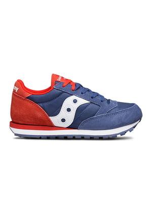 Кросівки синьо-червоні Jazz Double HL | 4921043