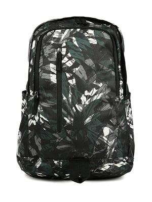 Рюкзак черный в принт | 4921582