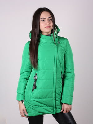 Куртка зеленая   4922458