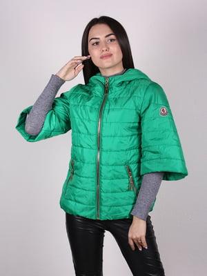 Куртка зеленая   4922461