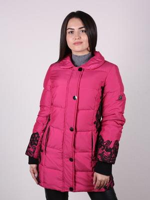 Пальто цвета марсала | 4922475