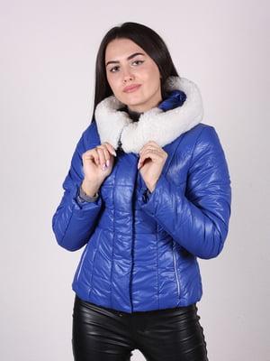 Куртка синяя   4922477