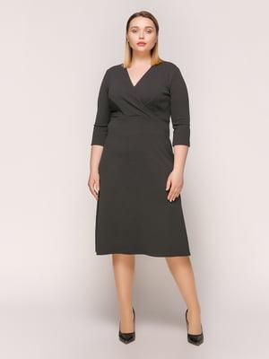 Сукня темно-сіра | 4894205
