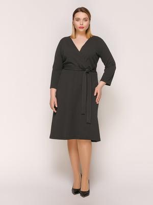 Сукня темно-сіра | 4894211