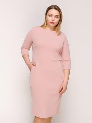 Сукня кольору пудри | 4916127