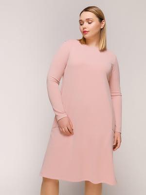Сукня кольору пудри | 4916128