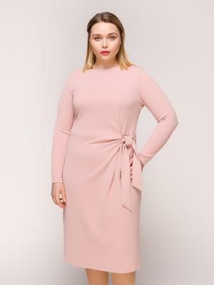 Сукня кольору пудри | 4916129