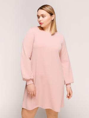 Сукня кольору пудри | 4916130