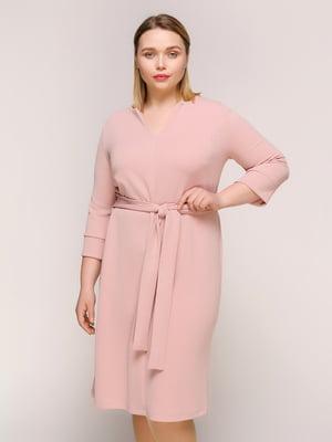Сукня кольору пудри | 4916133
