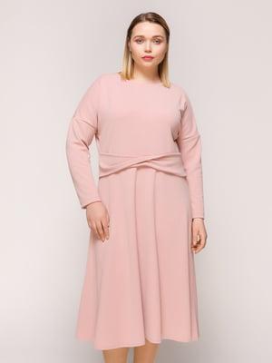 Сукня кольору пудри | 4916135