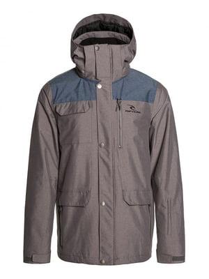 Куртка сіра | 4770466