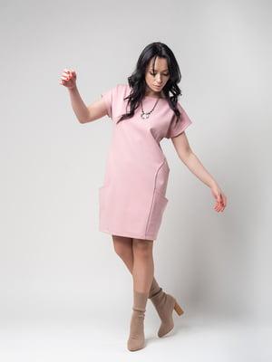 Сукня кольору пудри | 4923704