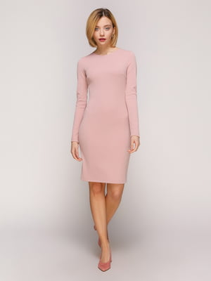 Сукня кольору пудри | 4916104