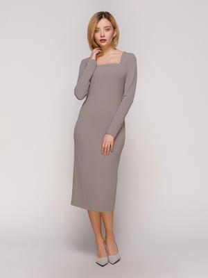 Сукня сіра | 4916115