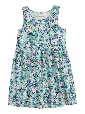 Платье в цветочный принт | 4923034