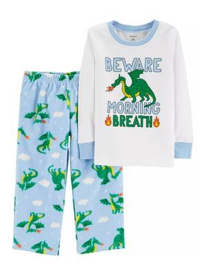 Пижама: лонгслив и брюки | 4934630