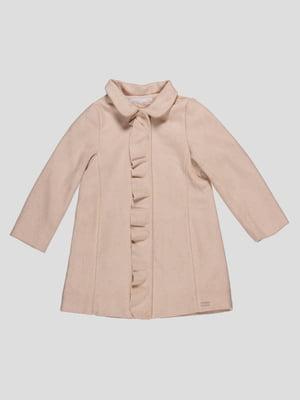 Пальто бежевое | 4509724