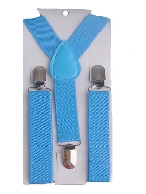 Подтяжки голубые | 4444859