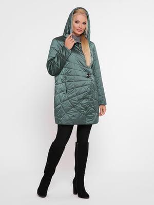 Куртка зеленая | 4932328