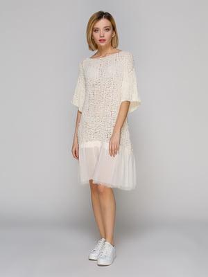 Сукня молочного кольору | 4621551